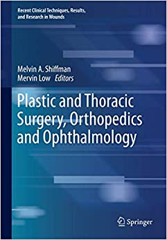 Plastic and Thoracic Surgery, Orthopedics and Ophthalmology (Recent Clinical Techniques, Results, and Research in Wounds (4))